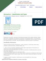Bioreactors - Classification and Types