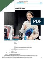 Van Esgrimistas Mexicanos a Mundial de China