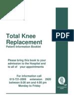 Total Knee Replacement Faktor
