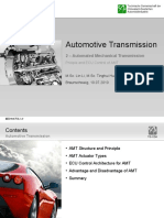Automotive Transmission - Automated Mechanical Transmission