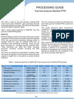 Free Flow Granular Modified PTFE