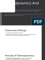 Thermodynamics and Energy REPORT