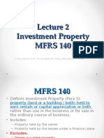Lecture 11 - Investment Property