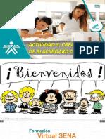 Actividad 3 Creando Sesion de Blackboard Collaborate