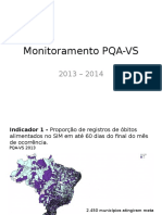 Monitoramento PQA Vs