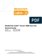MediaTek LinkIt Smart 7688 Duo Quick Start Guide