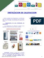 Instalacion de Calefaccion en Las Viviendas