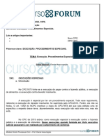 Módulo de Direito Processual Civil_Execução. Procedimentos Especiais._daniel Assumpção_Aula 12