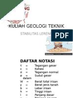 GT 9 LerengStabil