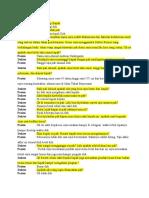 Contoh Dialog Dokter Dan Pasien