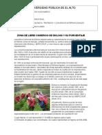 Zona de Libre Comercio de Bolivia y Su Porcentaje