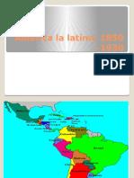 America Latina Post-Independiente