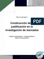 Plan de Mercadeo U2 B2 Apropiacion Justificacion en Investigacion