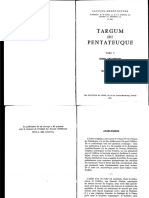 Roger Le Deaut, Targum Du Pentateuque v - Index Analytique