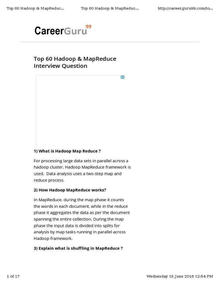 hadoopINT1 pdf | Apache Hadoop | Map Reduce