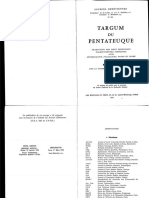Roger Le Deaut, Targum Du Pentateuque III - Nombres