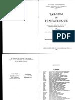 Roger Le Deaut, Targum Du Pentateuque IV - Deuteronome
