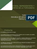 HISTORIA, REPRESENTATES Y INSTRUMENTOS DE LA TOPOGRAFIA.pptx