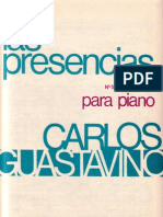 Guastavino Piano Presencias La