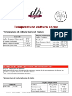 Temperature Cottura Carne
