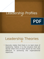 Leadership Profiles
