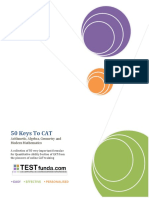 50 Keys to CAT From TestFunda.pdf