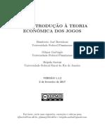 Uma Introdução À Teoria Econômica dos Jogos