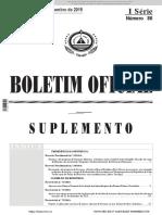 B.O - Suplemento n.º 86 - I Serie - 31.12.15