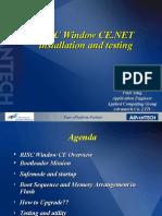 08_RISC CE.net Installation Guide