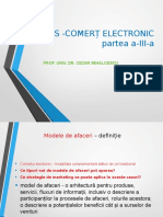 Curs 3 - Comert Electronic