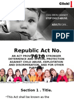 3 RA 7610 Child Abuse Law
