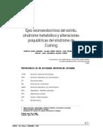Ejes Neuroendocrinos Del Estrés