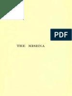 W. H. Bennett. the Mishna as Illustrating the Gospels (Khazarzar)