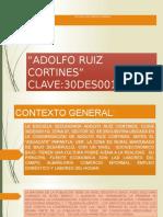 SECUNDARIA GENERAL ADOLFO RUIZ CORTINES
