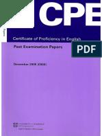 Cambridge - CPE Past Examination Papers 2005