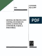 NORMA COVENIN 0823-2-1997 SISTEMA DE PROTECCION CONTRA INCENDIOS.pdf