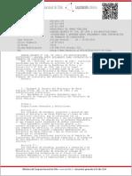 Reglamento Para Contratacion Trabajos de Consultorias