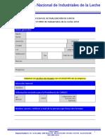 Ficha Actualizacion Datos.- Directorio Industriales Canilec 2014
