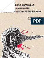 Violencia e Inseguridad Ciudadana en la Región Metropolitana de Cochabamba