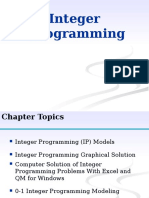 Integer Programming New