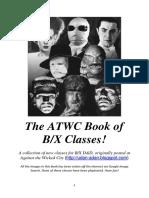 bx class book