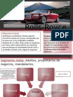 Mercadotecnia, análisis Rolls Royce