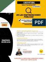 Curso Integral de las Contrataciones Públicas - Abril 2017