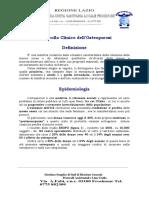 Protocollo CXlinico Per Osteoporosi