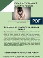 Abordagem Psicodinâmica Do Paciente Fóbico