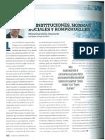 De instituciones, normas sociales y rompemuelles - Miguel Jaramillo - América Economía Perú (CADE Ejecutivos 2016) - 1116