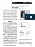 ACI Structural Journal - 106-S53 - Anchorage Strength and Behavior of Headed Bars in Exterior Beam-Column Joints.pdf
