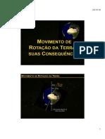8 Movimento de Rotação e de Translação e Suas Consequências (1)