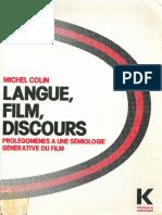 Langue Film Discours