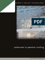 (BEST (Buildings Energy and Solar Technology)) Mat Santamouris-Advances in Passive Cooling-Routledge (2007)